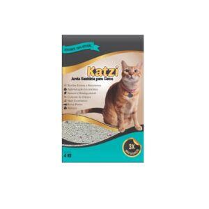 Areia Sanitária para Gatos Katzi 4kg
